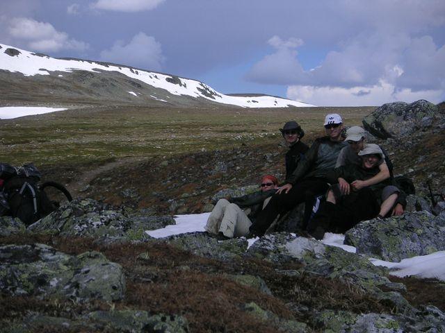 Vous regardez les images de l'article: Trekking estival en laponie - jour 2