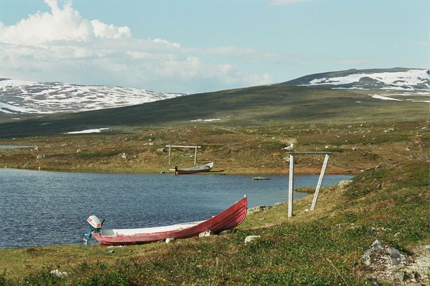 Vous regardez les images de l'article: Trekking estival en laponie - jour 3